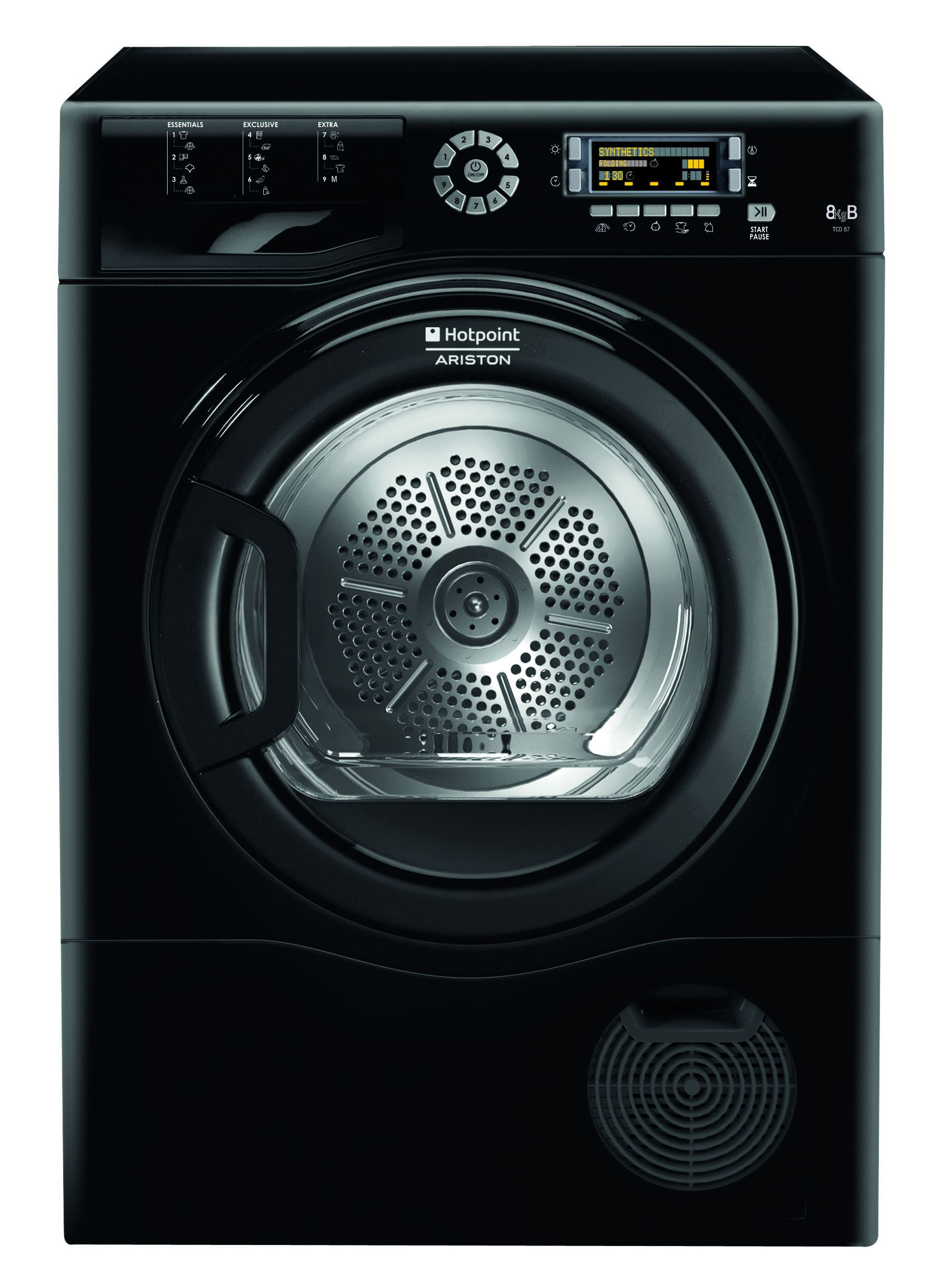 hotpoint ftcd87b6keu s che linge 8kg condensation. Black Bedroom Furniture Sets. Home Design Ideas