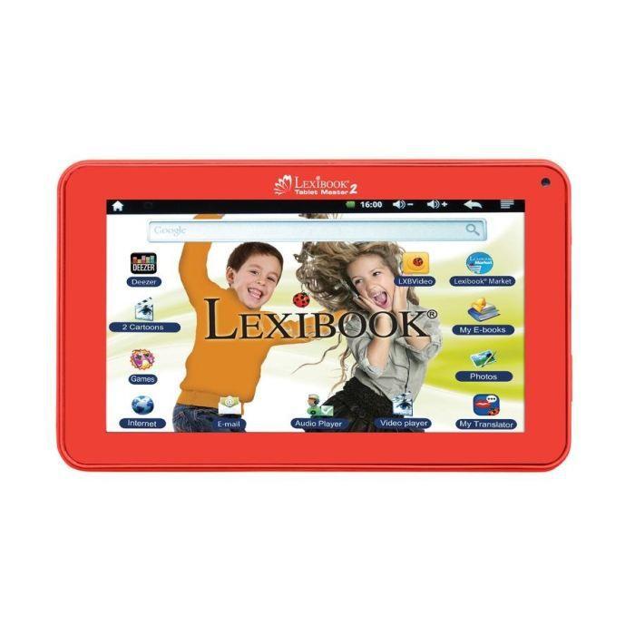 Lexibook tablette tactile enfant master 2 7 mfc157fr - Tablette tactile enfant leclerc ...