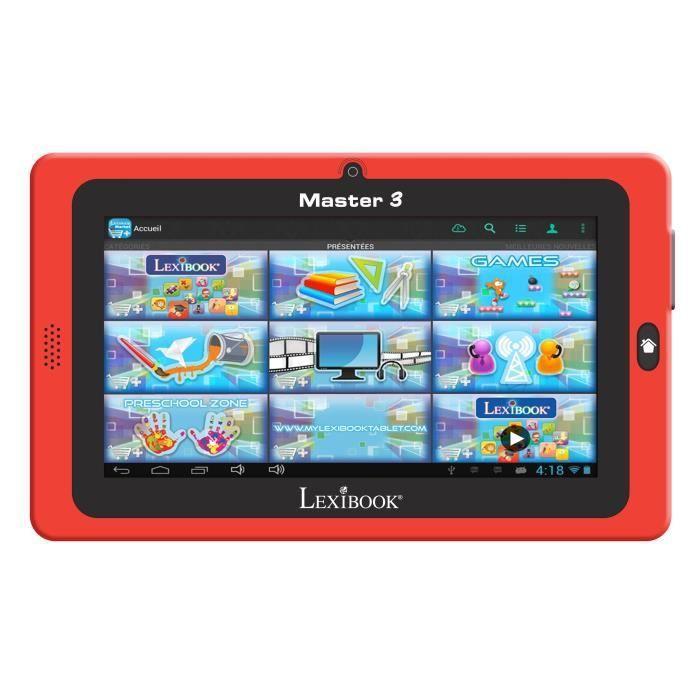 lexibook tablette tactile enfant master 3 7 achat vente tablette enfant soldes d hiver. Black Bedroom Furniture Sets. Home Design Ideas
