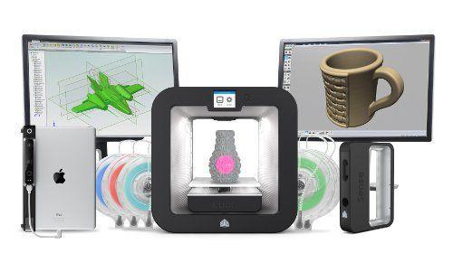imprimante 3d cube3 grise prix pas cher cdiscount. Black Bedroom Furniture Sets. Home Design Ideas