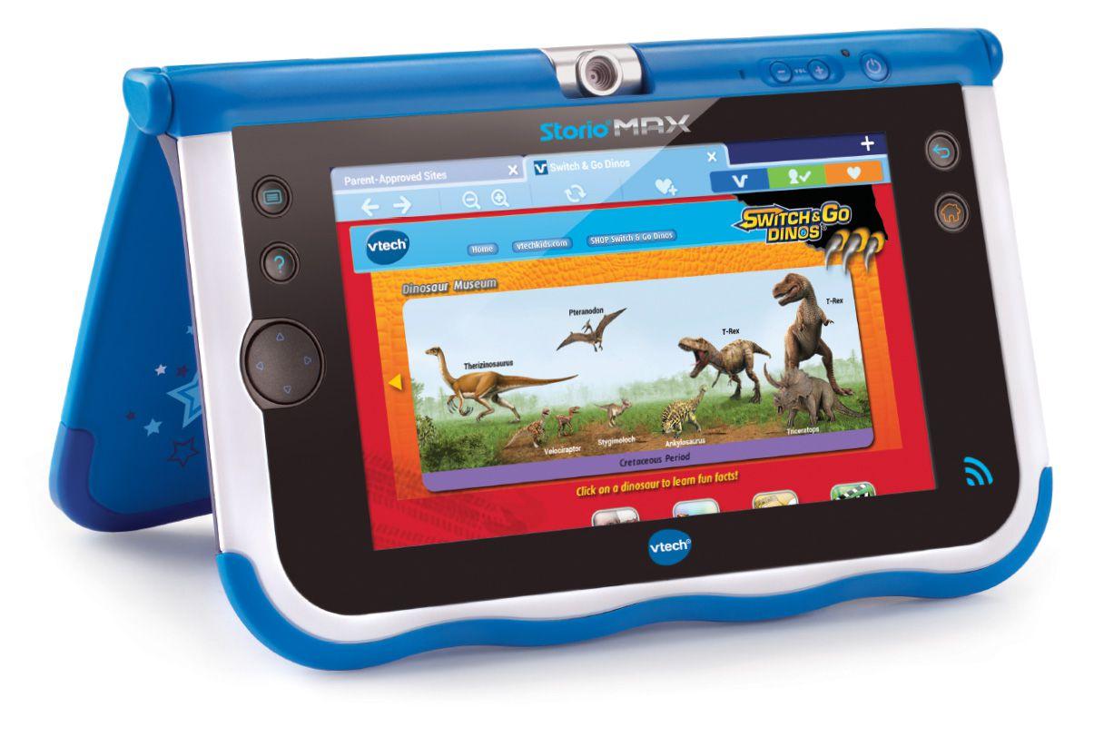 Vtech storio max 7 bleue tablette enfant achat vente for Housse storio max 7