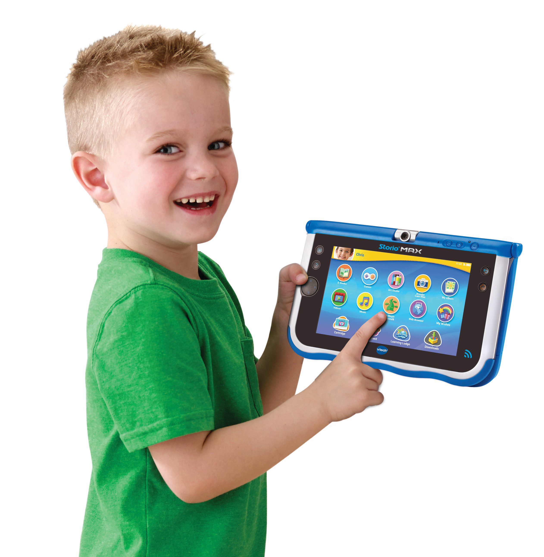 Vtech storio max 7 bleue tablette enfant achat vente - Tablette pour enfant pas cher ...