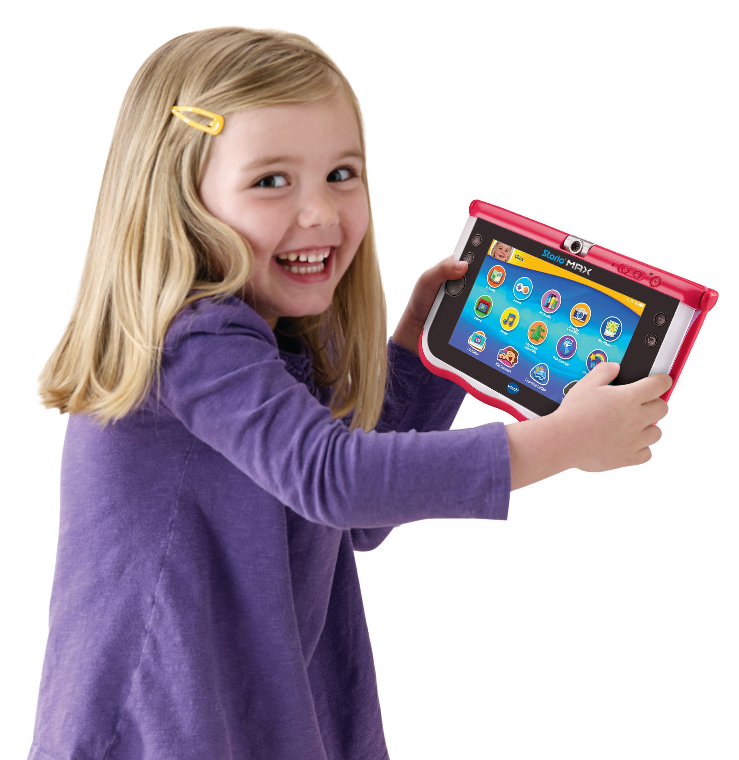 vtech storio max 7 rose tablette enfant achat vente. Black Bedroom Furniture Sets. Home Design Ideas