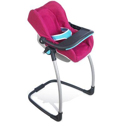 smoby chaise haute cosy 3 en 1 b b confort achat vente accessoire poupon cdiscount. Black Bedroom Furniture Sets. Home Design Ideas