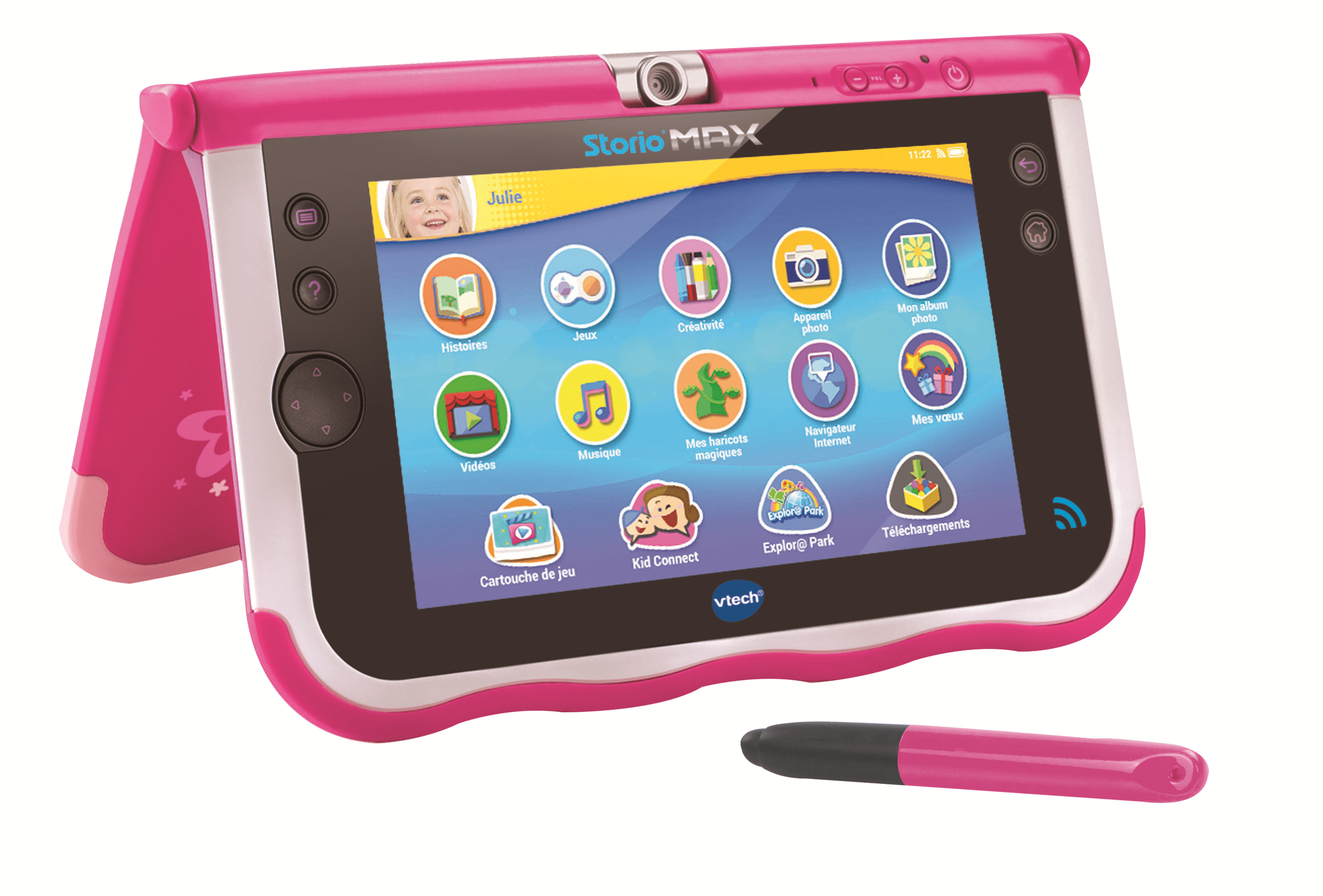 vtech storio max 7 rose tablette enfant achat vente tablette enfant cdiscount. Black Bedroom Furniture Sets. Home Design Ideas