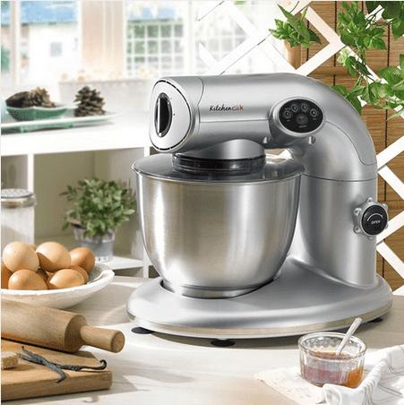 Kitchencook ak80 robot p tissier v2 gris achat vente robot de cuisine cdiscount - Robot de cuisine petrin ...