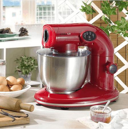 kitchencook robot pâtissier multifonction rouge v2 ak80 - achat