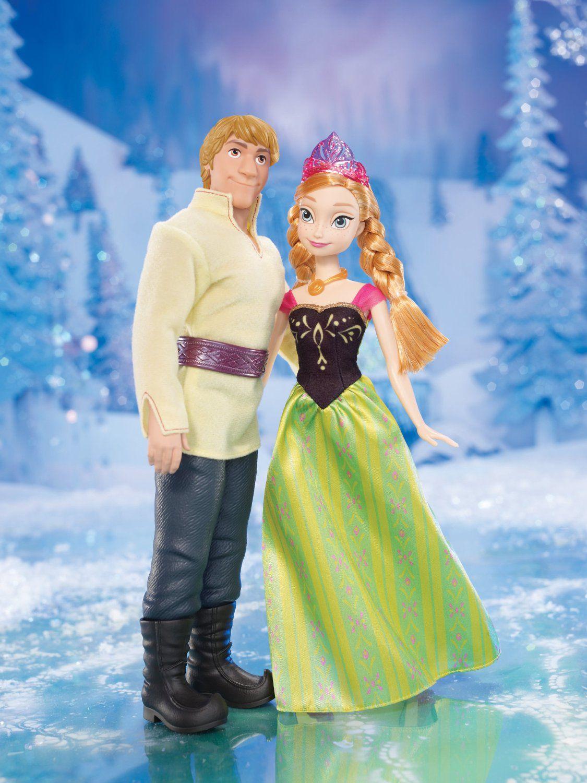 descriptif frozen la reine des neiges pack duo anna kristoff