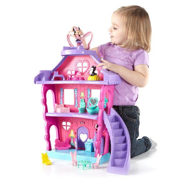 Minnie la grande maison fisher price achat vente for Maison jouet exterieur