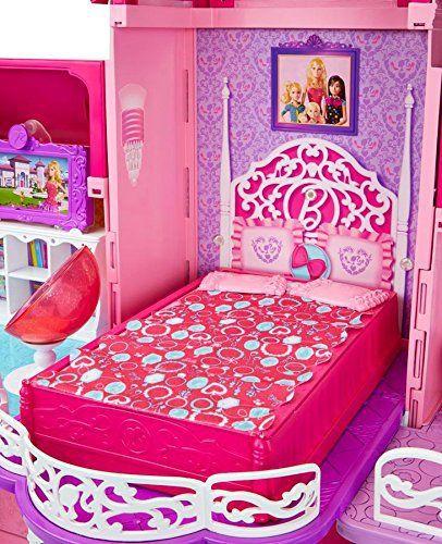 barbie la nouvelle maison achat vente maison poup e cdiscount. Black Bedroom Furniture Sets. Home Design Ideas
