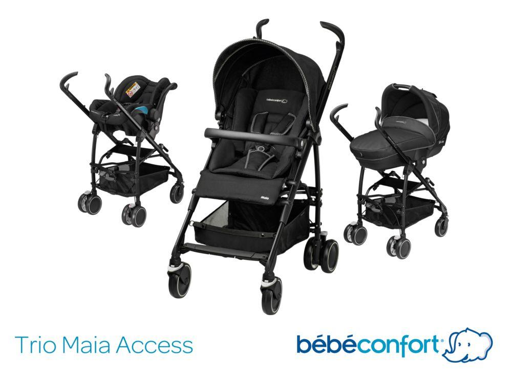 Bebe confort poussette combin e trio streety next black - Cdiscount bebe confort ...