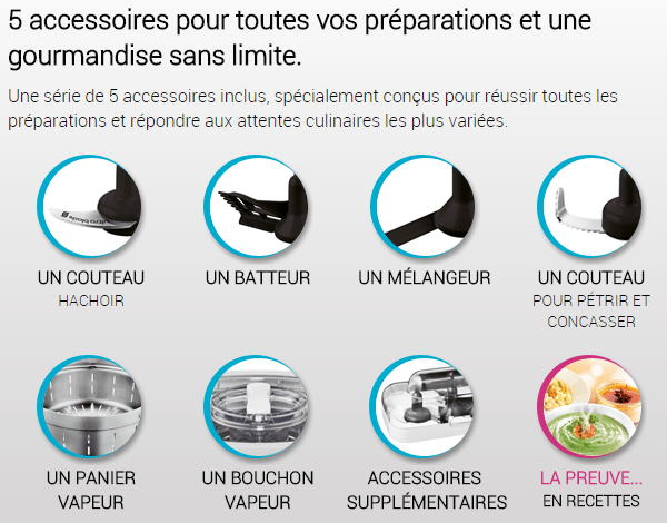 Robot cuisine companion moulinex hf800a achat vente multicuiseur prix de folie cdiscount - Nouveau livre companion moulinex ...