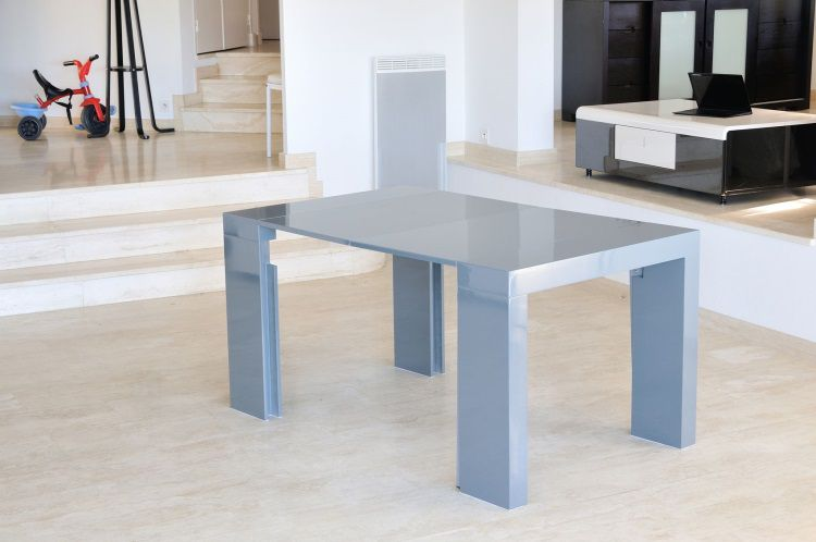 Table extensible 8 personnes for Table extensible 6 a 8 personnes blooma