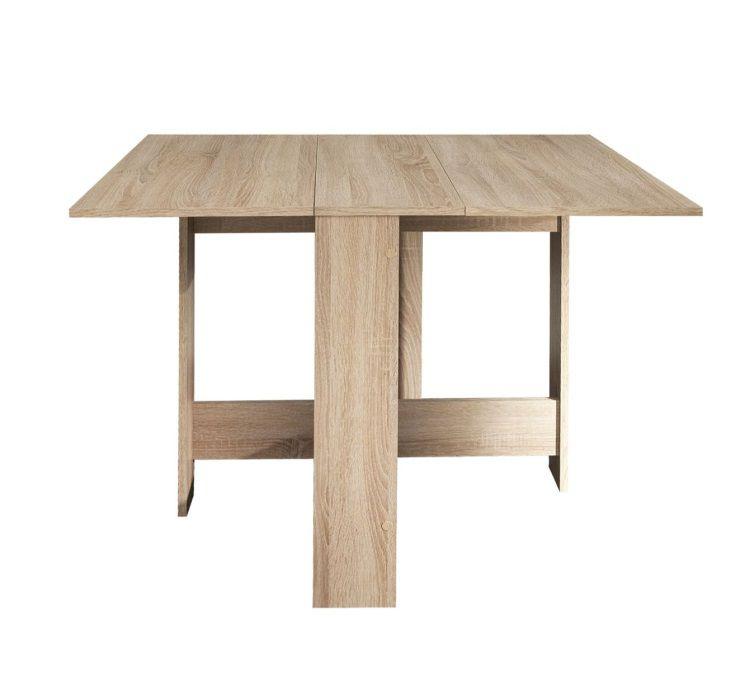 Curry table pliante 28 103 cm ch ne naturel achat for Table a manger pliante design