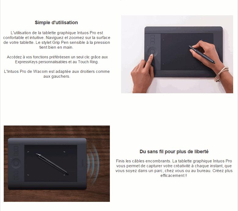 destockage wacom tablette graphique intuos pro l tablette graphique au meilleur prix cdiscount. Black Bedroom Furniture Sets. Home Design Ideas