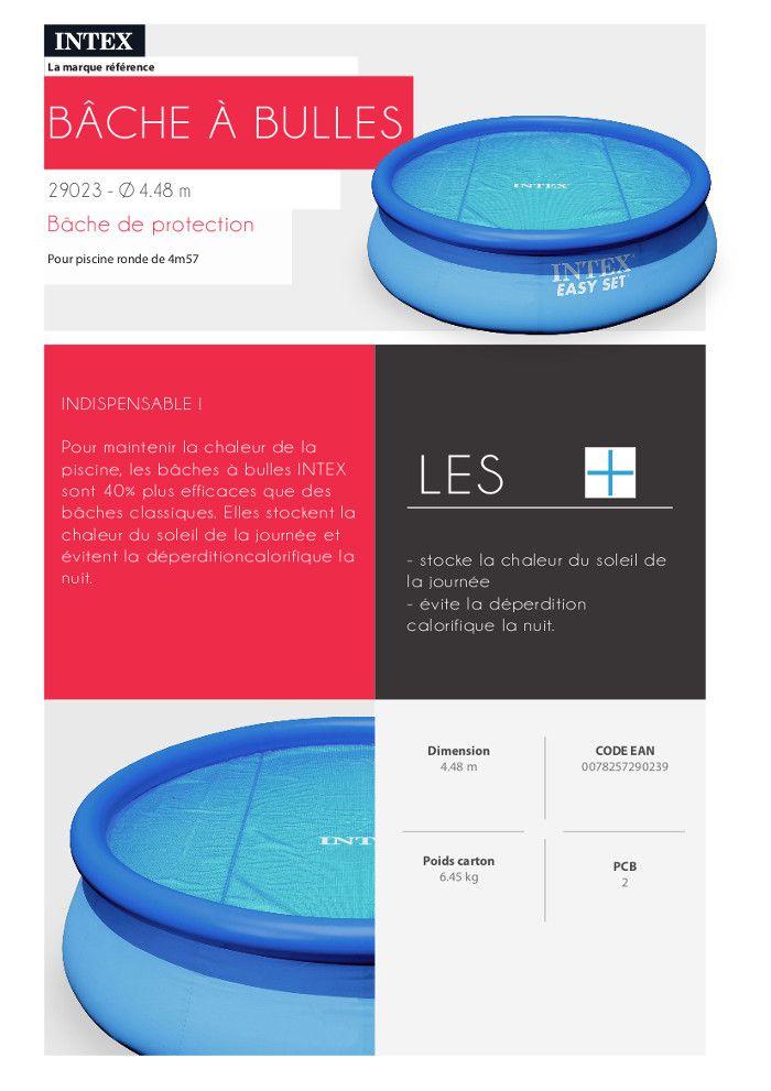 intex b che bulles piscine ronde de 4 57m achat vente b che couverture b che bulles. Black Bedroom Furniture Sets. Home Design Ideas
