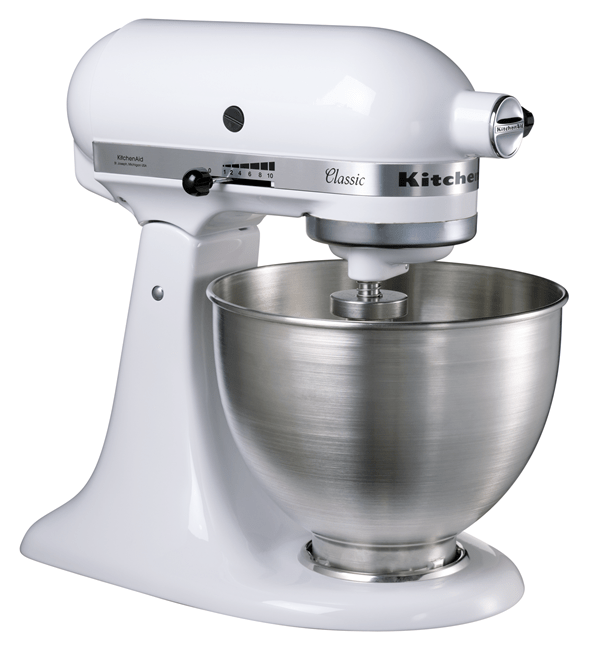 Kitchenaid 5k45ssewh achat vente robot multifonctions for Avis sur robot kitchenaid