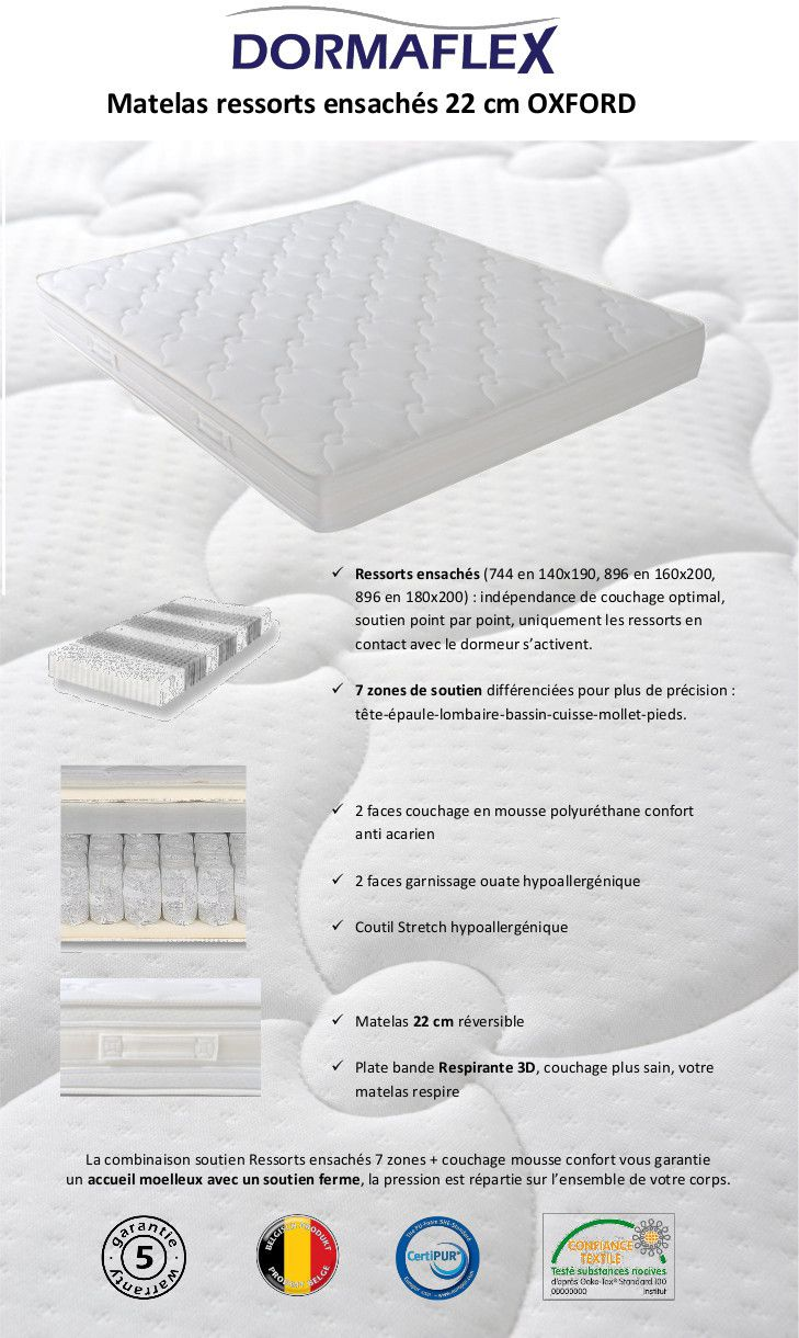 dormaflex matelas avis matelas matelas mmoire de forme antistress with dormaflex matelas avis. Black Bedroom Furniture Sets. Home Design Ideas