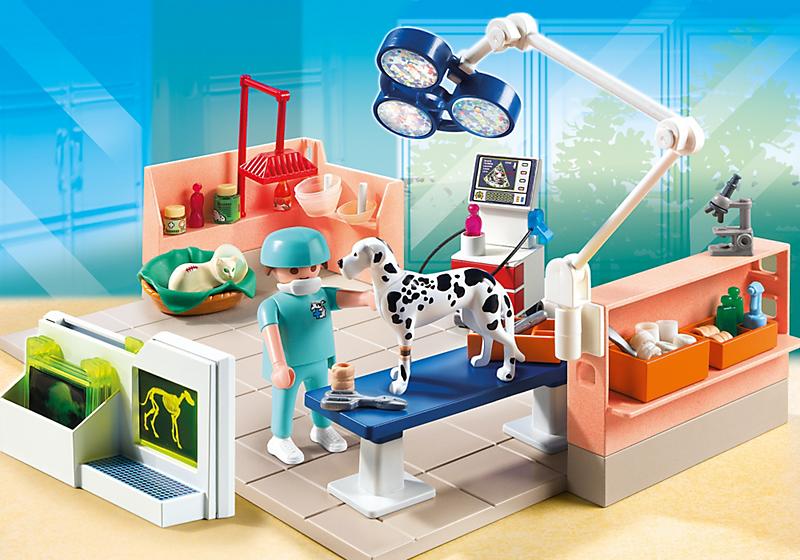 Playmobil 5530 chirurgien v t rinaire et salle achat for Salle de sejour playmobil