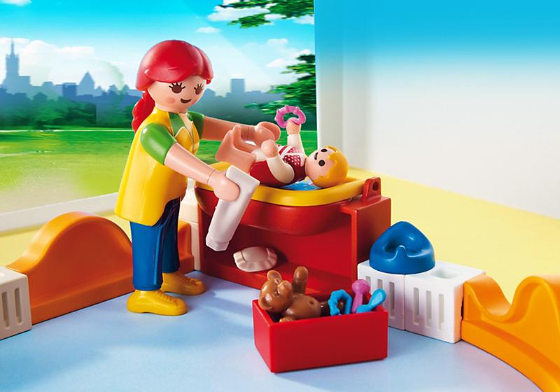 juniors jeux et jouets par type playmobil  espace creche avec bebes f pl