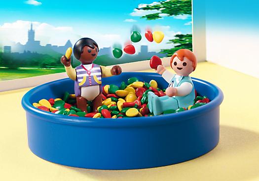 Playmobil 5572 city life piscine balles pour b b s for Prix piscine playmobil