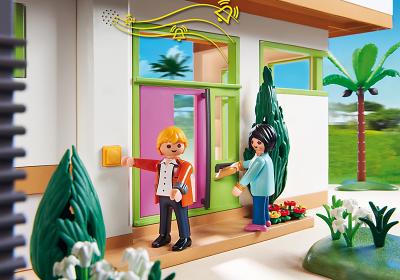 Playmobil 5574 maison moderne achat vente univers for Salle de bain villa moderne playmobil