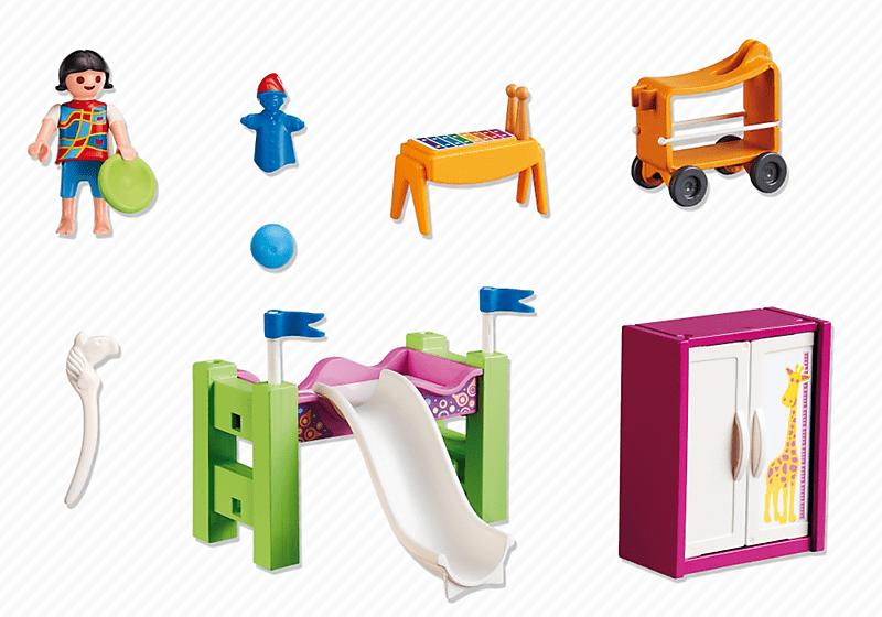 Playmobil 5579 chambre enfant avec lit achat vente for Chambre de luxe pour bebe