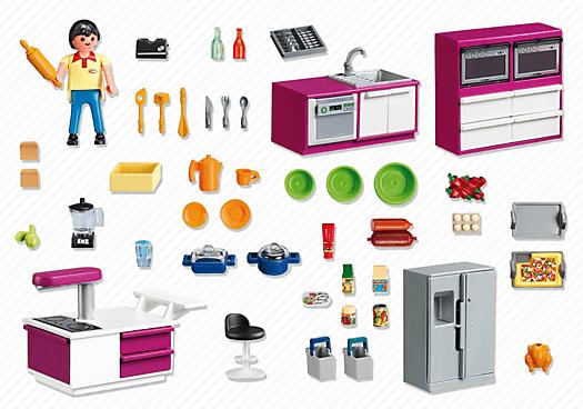 Playmobil 5582 cuisine avec lot achat vente univers for Cuisine 5582 playmobil