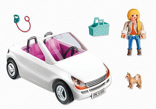playmobil 5585 voiture cabriolet achat vente univers miniature cdiscount. Black Bedroom Furniture Sets. Home Design Ideas