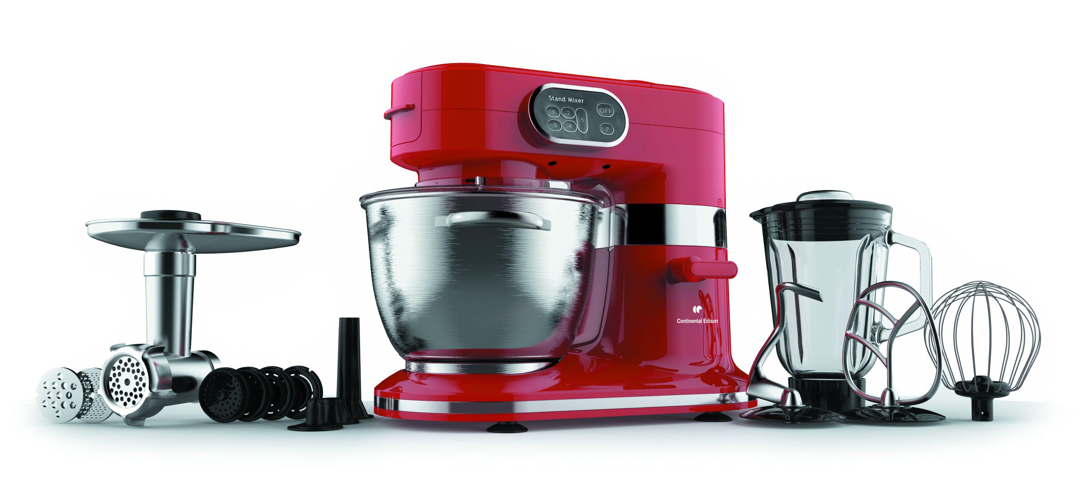 Continental edison robot professionnel cerb100wr 1000 w for Accessoire cuisine professionnel