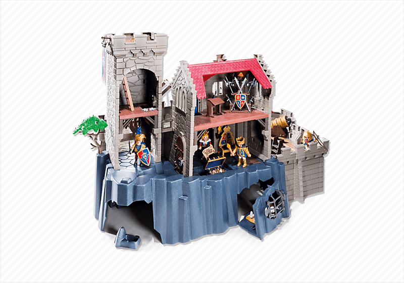 playmobil chateau fort 6001. Black Bedroom Furniture Sets. Home Design Ideas