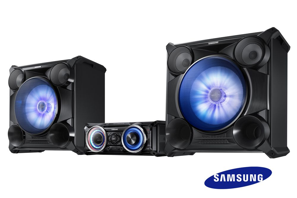 samsung mx hs8000 mini cha ne hi fi 2300w chaine hi fi. Black Bedroom Furniture Sets. Home Design Ideas
