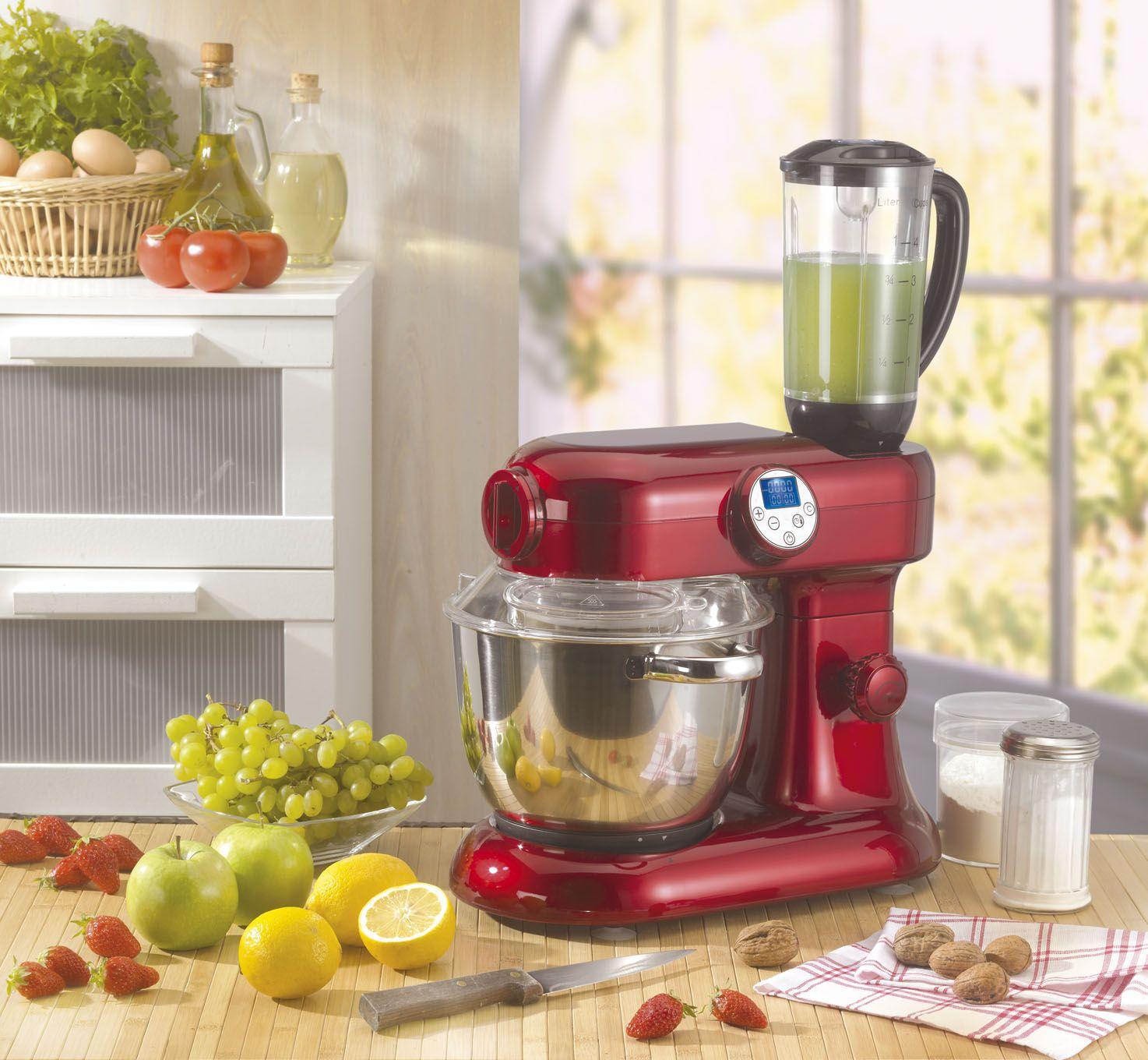 Robot cuiseur modele revolution v2 rouge achat vente for Robot de cuisine multifonction chauffant
