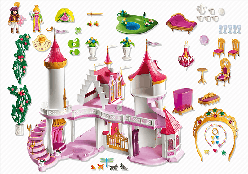 Playmobil 5142 palais de princesse achat vente univers for Playmobil princesse 5142