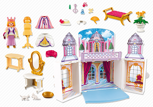playmobil 5419 coffre princesse achat vente univers miniature cdiscount. Black Bedroom Furniture Sets. Home Design Ideas