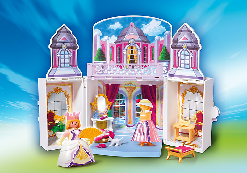 Playmobil 5419 coffre princesse achat vente univers miniature cdiscount for Playmobil chambre princesse