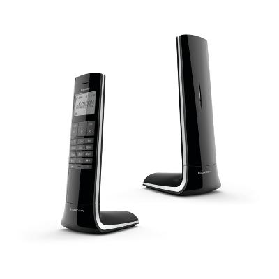 logicom luxia 150 solo noir gris achat t l phone fixe. Black Bedroom Furniture Sets. Home Design Ideas