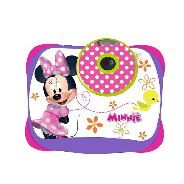minnie appareil photo num rique enfant 5 mp lexibook achat vente appareil photo enfant. Black Bedroom Furniture Sets. Home Design Ideas
