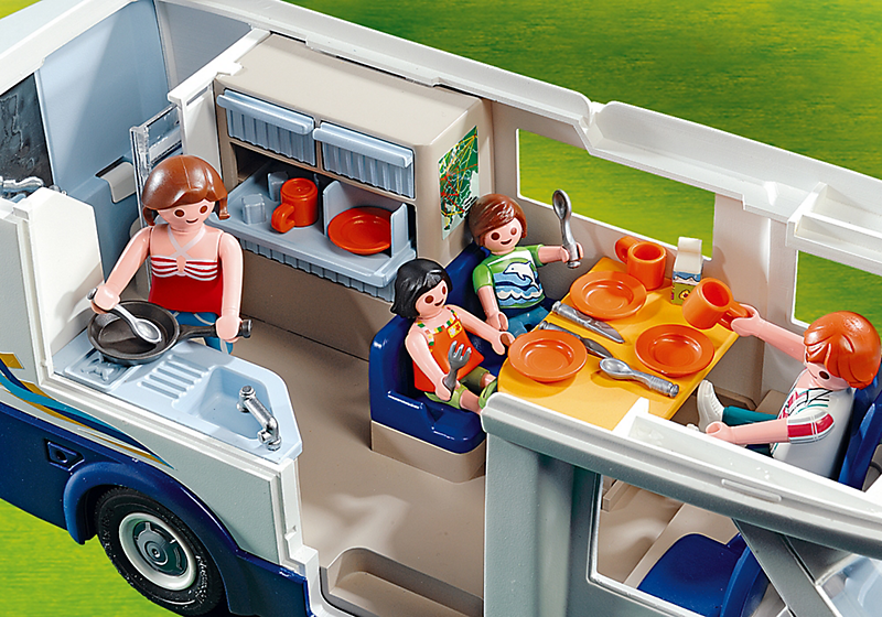descriptif playmobil 4859 grand camping car familial