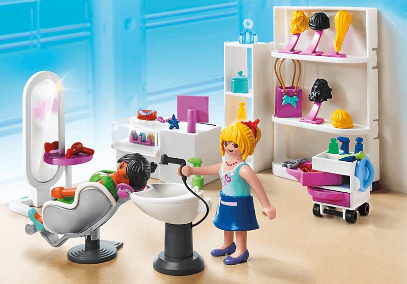 Playmobil 5487 salon de beaut achat vente univers for Playmobil salon de coiffure