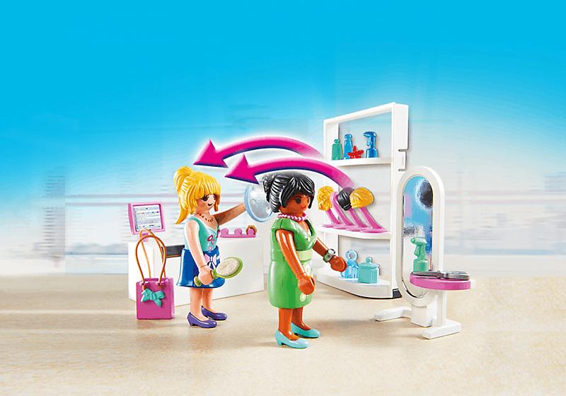 Playmobil 5487 salon de beaut achat vente univers for Salon playmobil