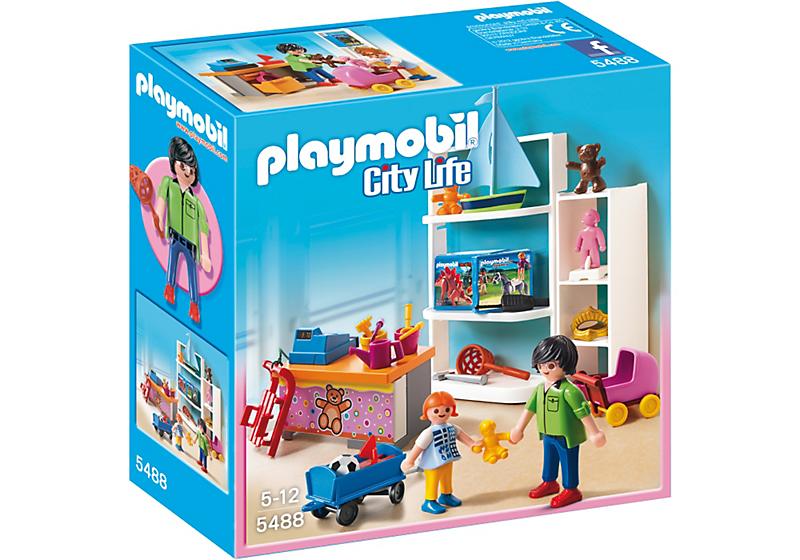 playmobil 5488 magasin de jouets achat vente univers miniature cdiscount. Black Bedroom Furniture Sets. Home Design Ideas