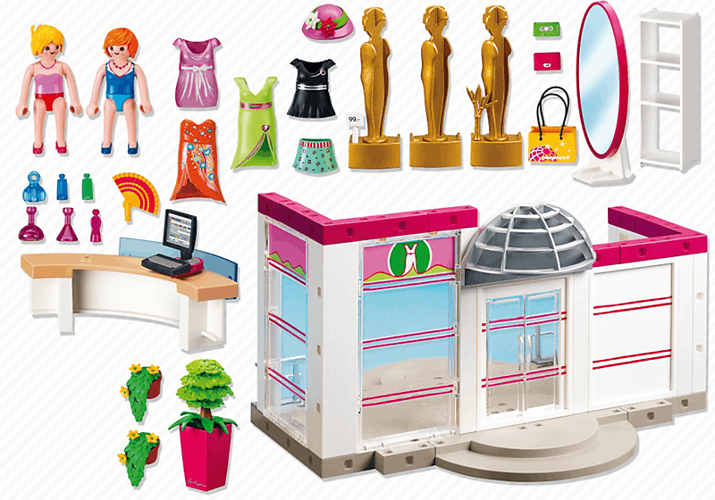 Cuisine 5582 Playmobil Of Playmobil 5486 Boutique De V Tements Achat Vente