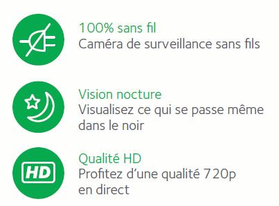 Caméra de sécurité Arlo