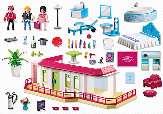 Radio pour salle de bains galerie d 39 inspiration pour la for Salle bain playmobil