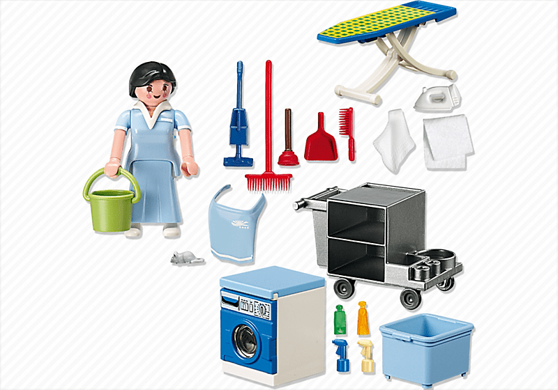 Playmobil 5271 femme de service achat vente univers for Jugendzimmer playmobil