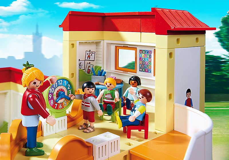 destockage playmobil 5567 garderie enfant univers