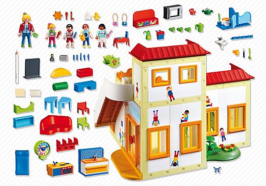 garderie playmobil 5567