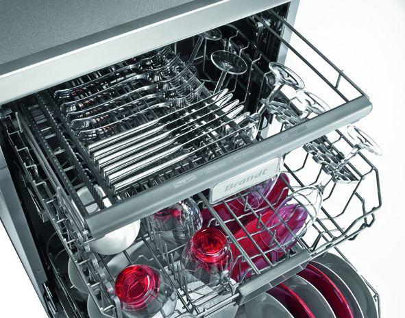 brandt dfh14104w - lave-vaisselle posable - 14 couverts - 44db - a