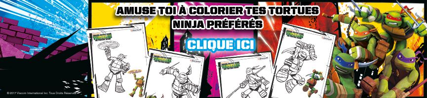 Coloriages Tortues Ninja